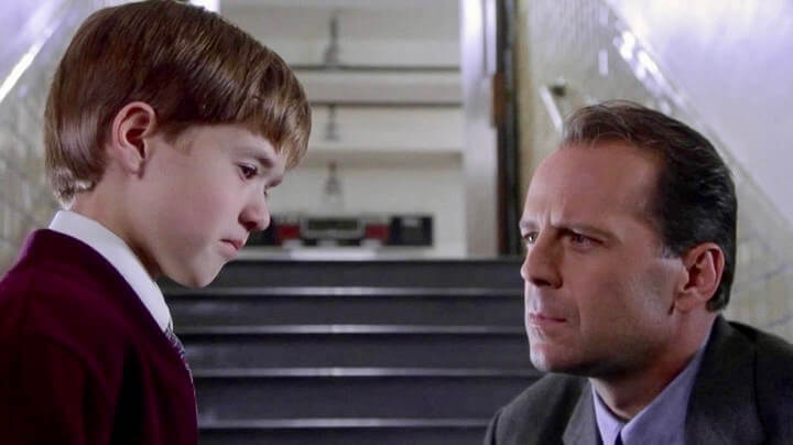 Sixth Sense Bruce Willis Haley Joel Osment