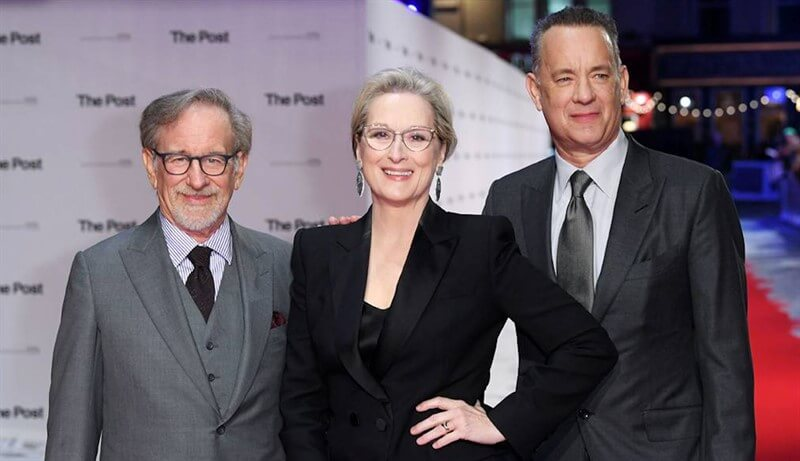 Steven Spielberg Meryl Streep Tom Hanks