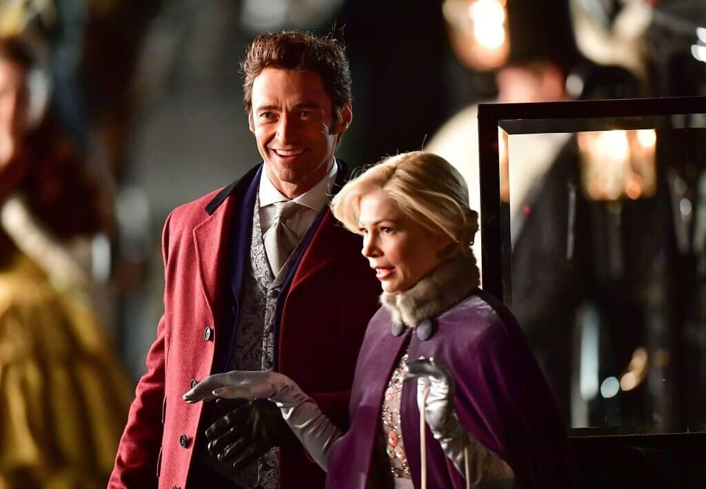 The Greatest Showman Hugh Jackman Michelle Williams