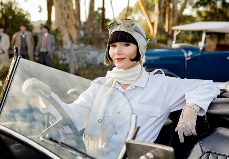 Miss Fisher's Murder Mysteries Essie Davis