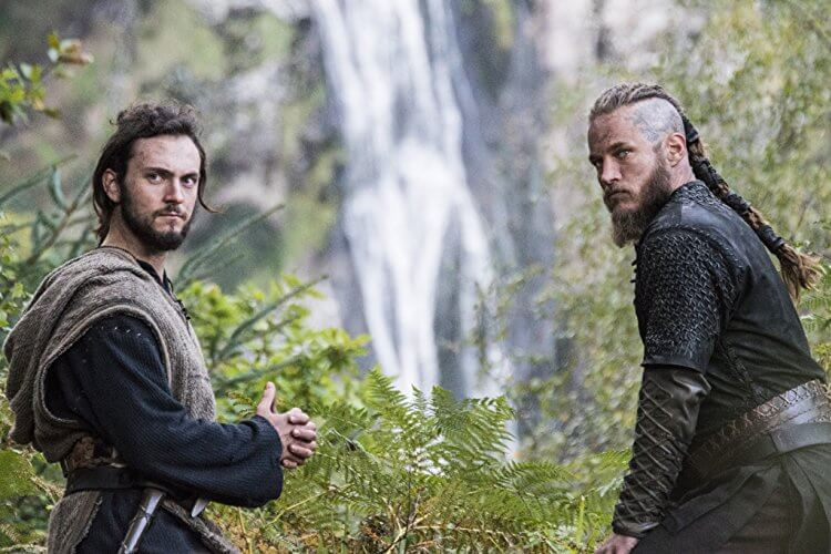 Ragnar Lothbrok Athelstan Vikings