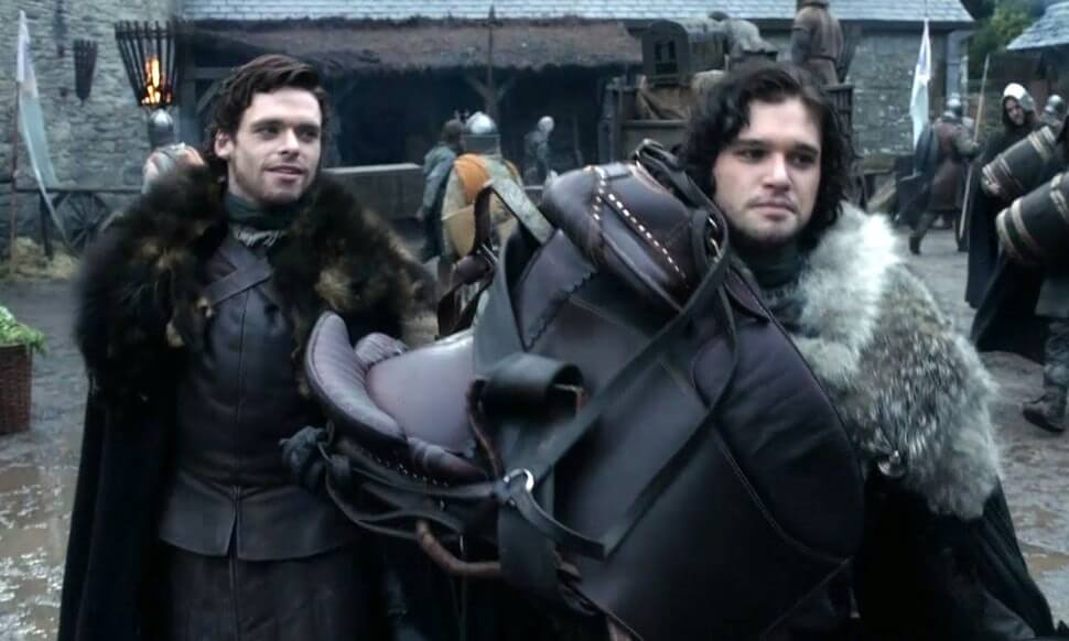 Game of Thrones Jon Snow Robb Stark