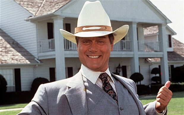 Dallas JR Larry Hagman