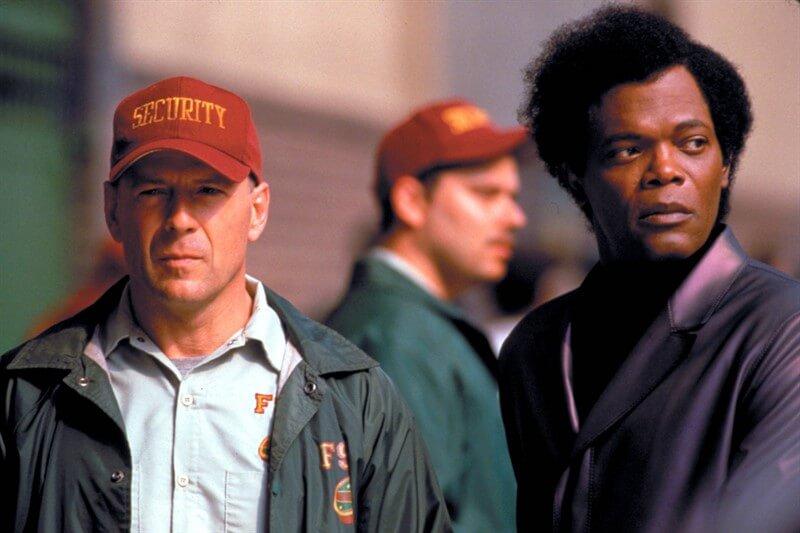 Glass Bruce Willis Samuel L Jackson
