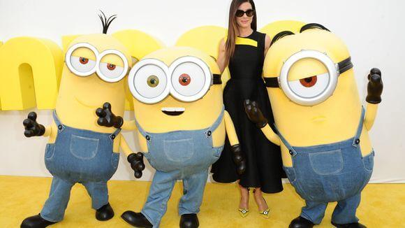 Sandra Bullock Minions