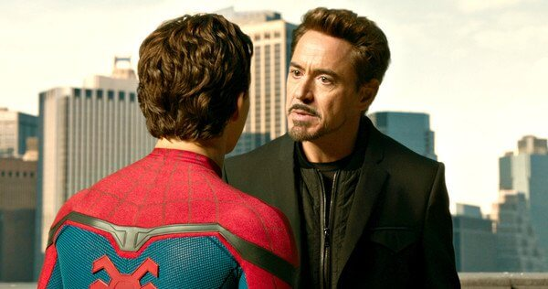 Robert Downey Spider Man Homecoming