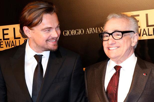 Martin Scorcese Leonardo DiCaprio
