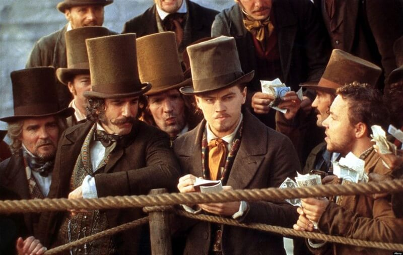 Daniel Day Lewis Leonardo DiCaprio  Gangs of New York New York Çeteleri