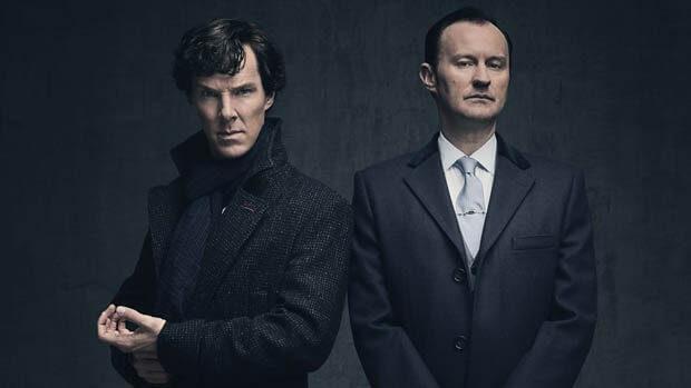 Sherlock Mark Gatiss Benedict Cumberbatch