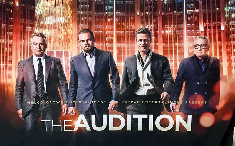 The Audition Martin Scorsese Brad Pitt Leonardo DiCaprio Robert de Niro