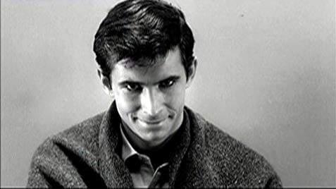 Psycho Sapık Norman Bates Anthony Perkins