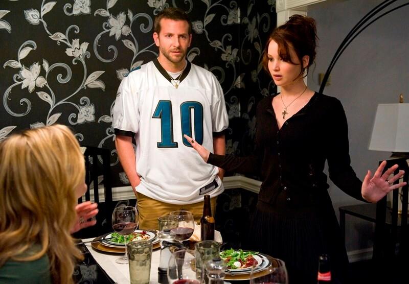 Silver Linings Playbook Umut Işığım Bradley Cooper Jennifer Lawrence