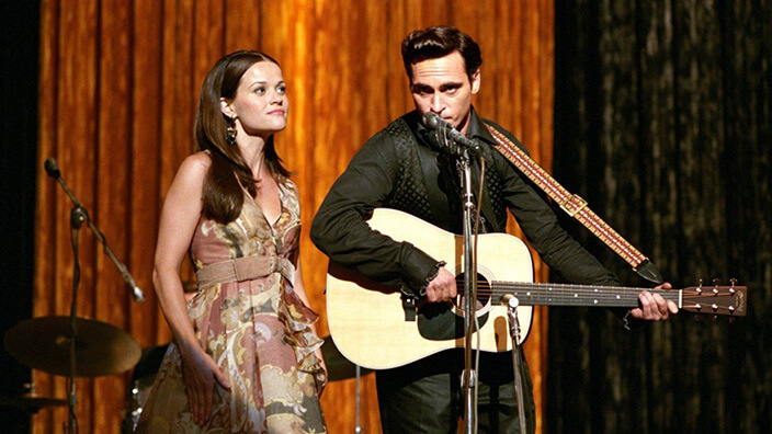 Walk the Line Joaquin Phoenix Reese Witherspoon