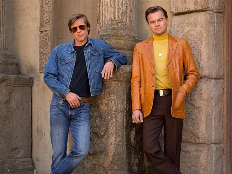 Once Upon a Time in Hollywood Brad Pitt Leonardo DiCaprio