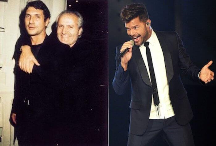Gianni Versace Antonio D'Amico Ricky Martin