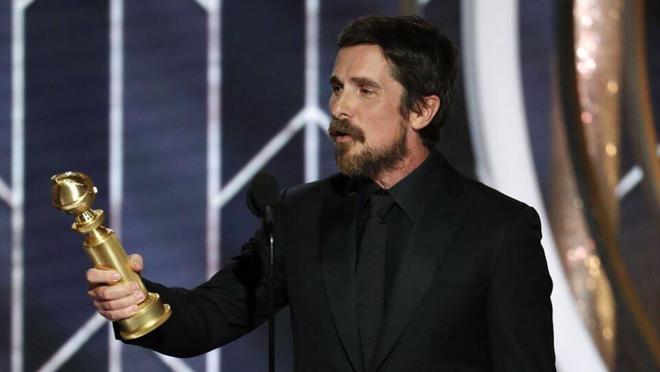 Christian Bale Altın Küre Vice