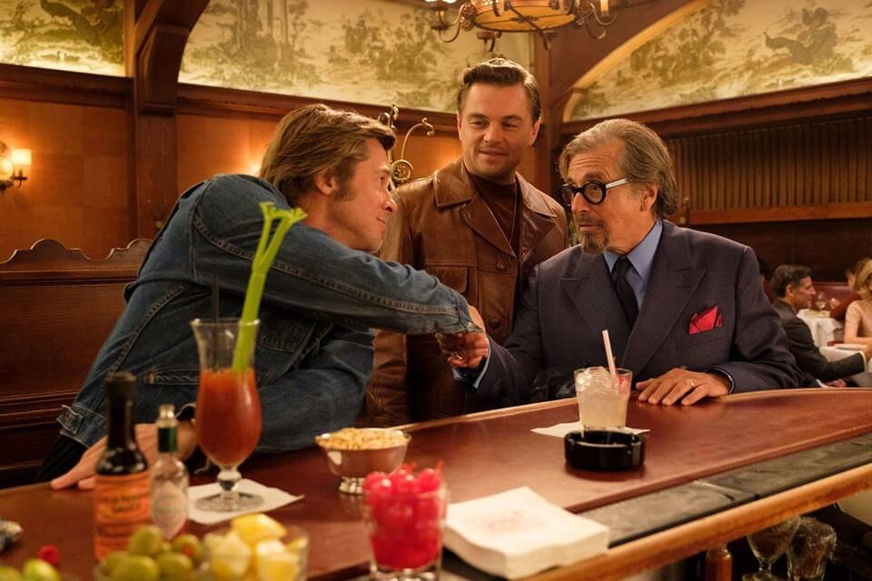 Once Upon a Time in Hollywood Leonardo DiCaprio Al Pacino Brad Pitt