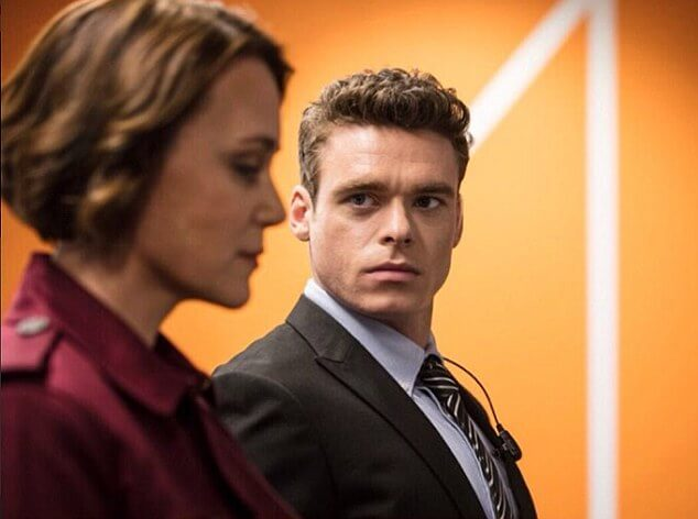 The Bodyguard Richard Madden Keely Hawes
