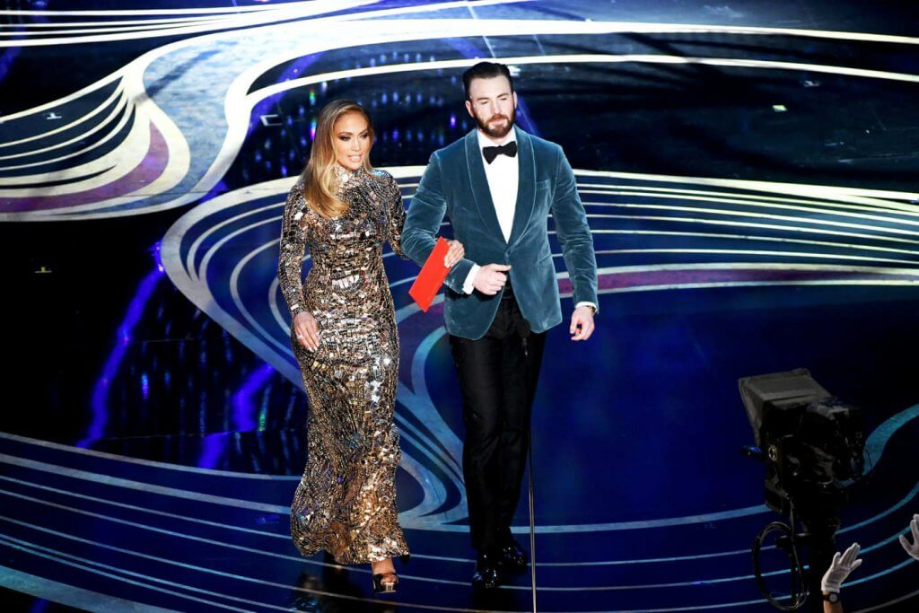 Jennifer Lopez Chris Evans Oscar