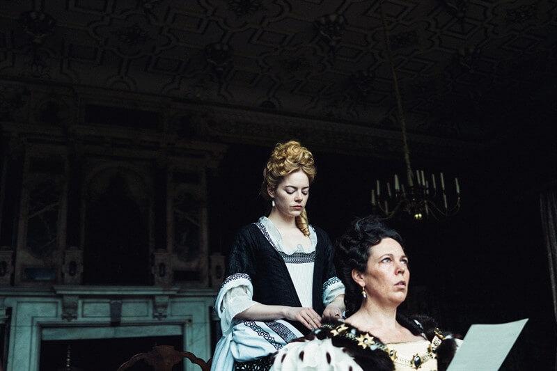 The Favourite Sarayın Gözdesi Emma Stone Olivia Colman