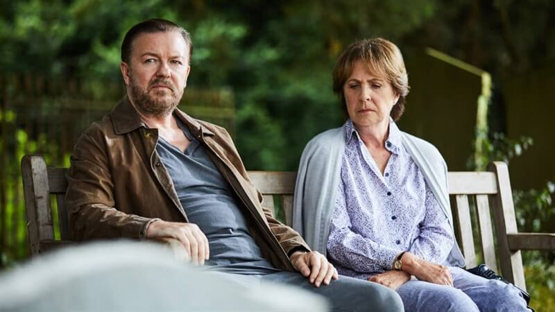 After Life Ricky Gervais Penelope Wilton