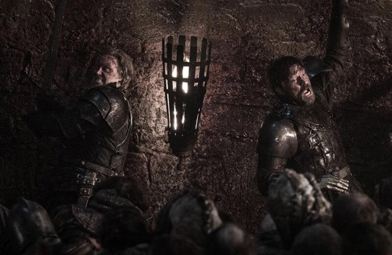 Game of Thrones Jaime Lannister Brienne of Tarth Nikolaj Coster-Waldau Gwendoline Christei