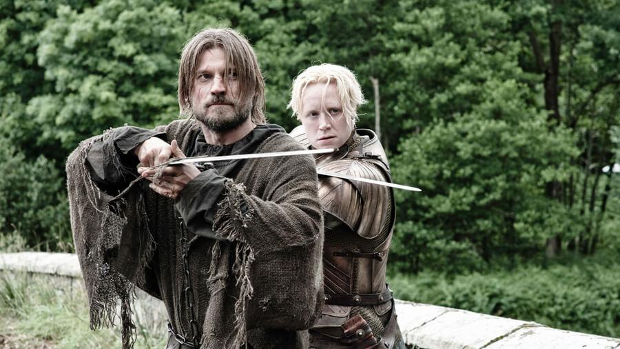 Jaime Lannister Brienne Game of Thrones