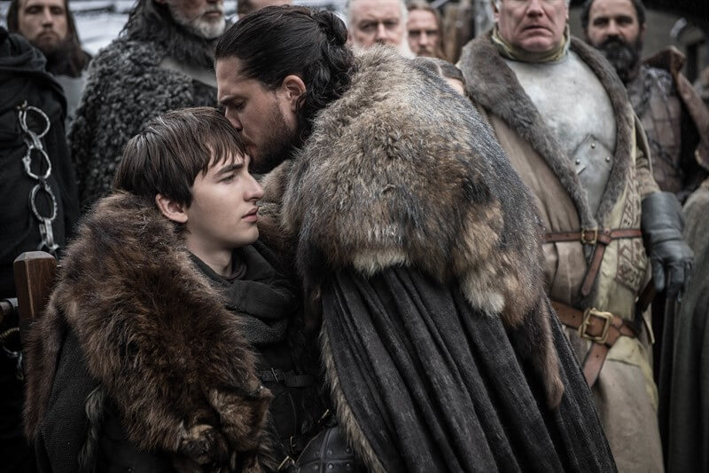 Game of Thrones Bran Stark Jon Snow