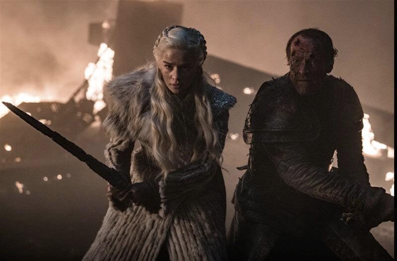 Daenerys Targaryen Jorah Mormont Game of Thrones