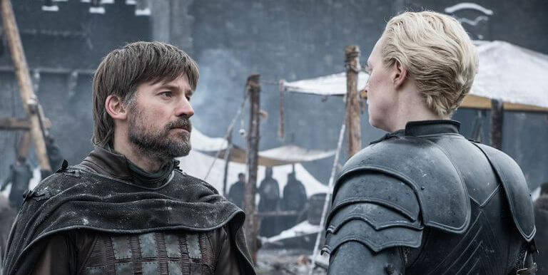 Game of Thrones Jaime Lannister Brienne Gwendoline Christie Nikolaj Coster-Waldau