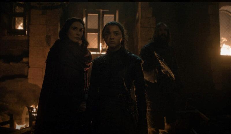 Melisandre Arya Game of Thrones