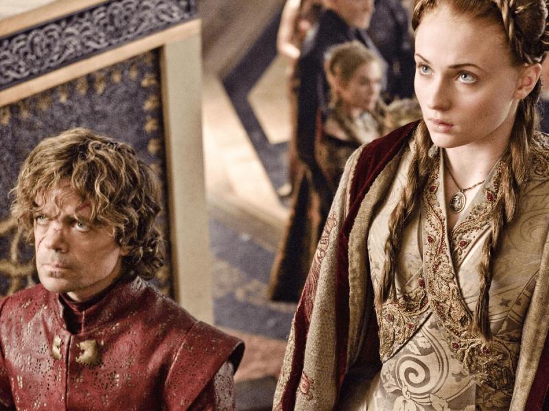 Sansa Stark Tyrion Lannister Game of Thrones Sophie Turner Peter Dinklage