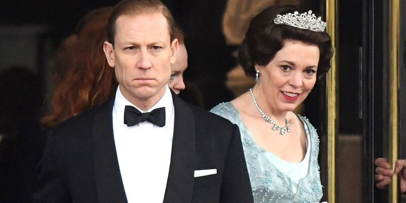 The Crown Kraliçe Elizabeth Prens Philip Tobias Menzies Olivia Colman