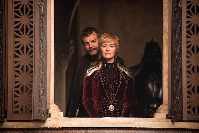 Cersei Lannister Euron Greyjoy Game of Thrones
