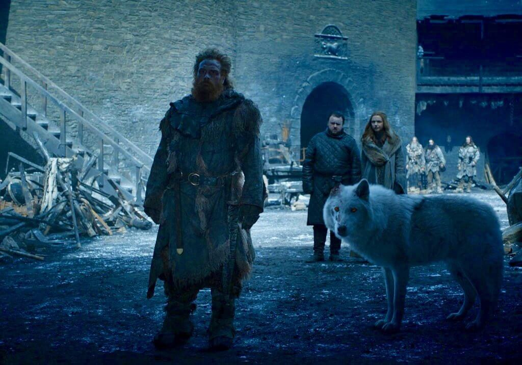 Ghost Tormund Game of Thrones