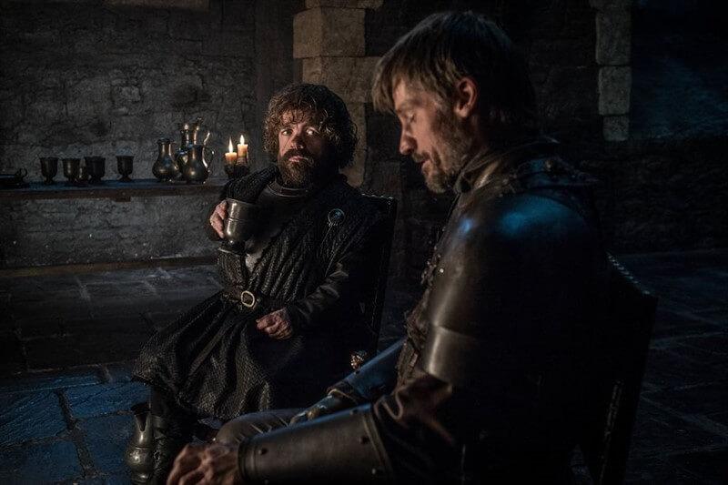Tyrion Jaime Lannister Peter Dinklage Nikolaj Coster-Waldau Game of Thrones
