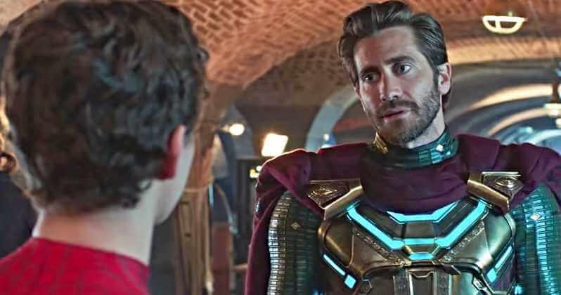 Spider Man Far From Home Örümcek Adam Evden Uzakta Jake Gyllenhaal