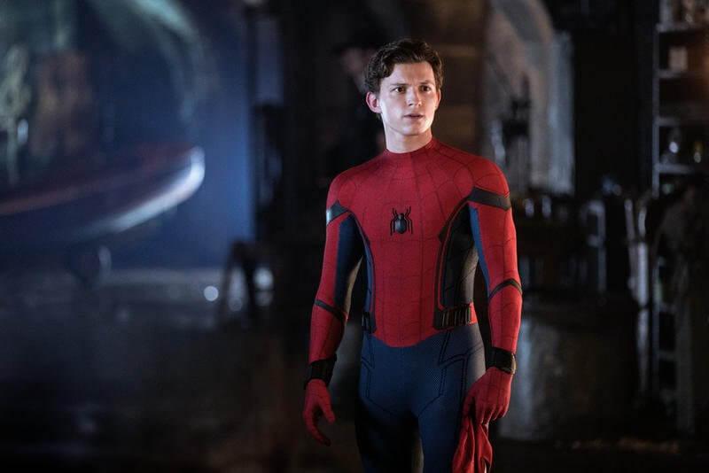 Örümcek Adam Evden Uzakta Spider Man Far From Home Tom Holland