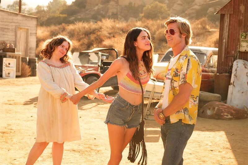 Once Upon a Time in Hollywood Lena Dunham Brad Pitt