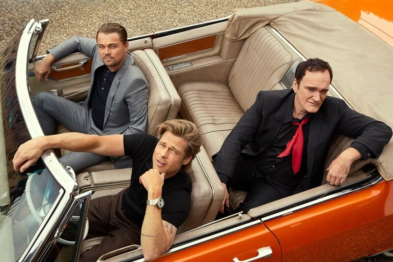 Once Upon a Time in Hollywood Quentin Tarantino Leonardo DiCaprio Brad Pitt