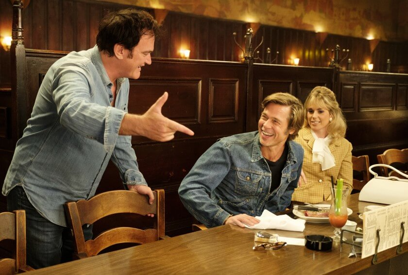 Once Upon a Time in Hollywood Quentin Tarantino Brad Pitt