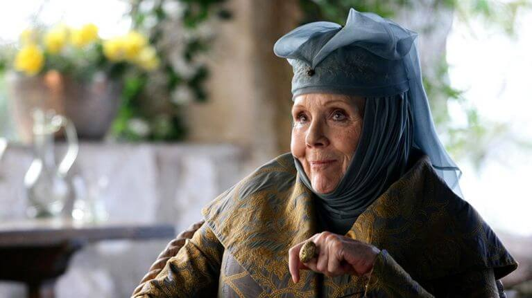 Olenna Tyrell Diana Rigg Game of Thrones
