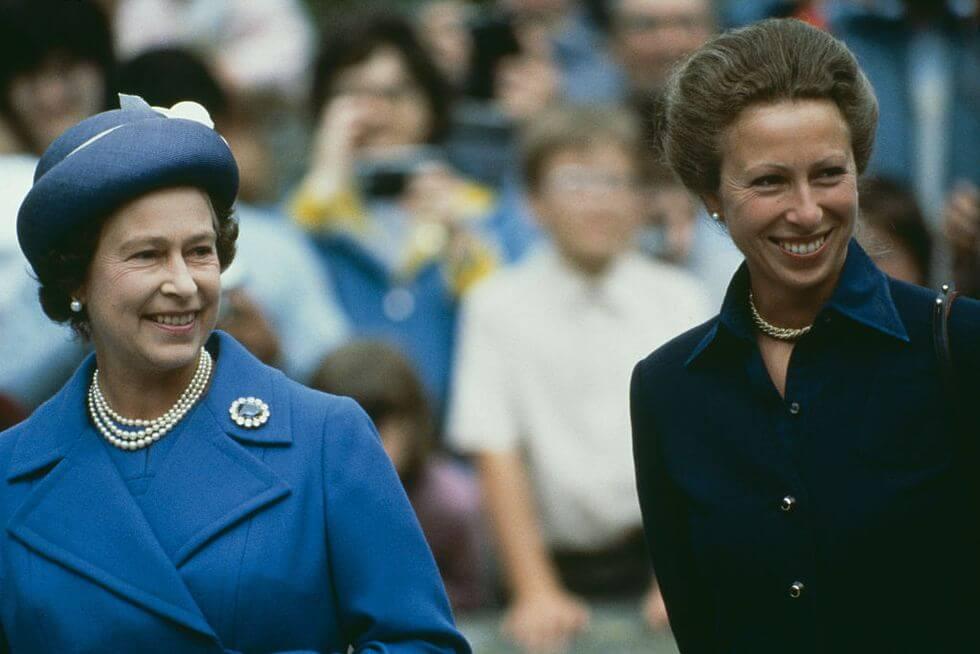 Kraliçe Elizabeth Prenses Anne