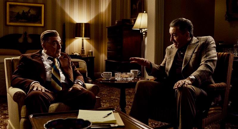 The Irishman Joe Pesci Robert De Niro