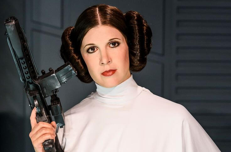 Carrie Fisher Prenses Leia Star Wars
