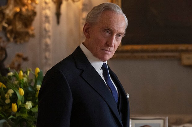 The Crown Lord Dickie Mountbatten Charles Dance