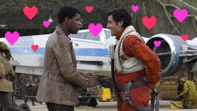 Star Wars Poe ve Finn