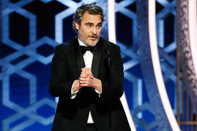 Joaquin Phoenix 2020 Altın Küre