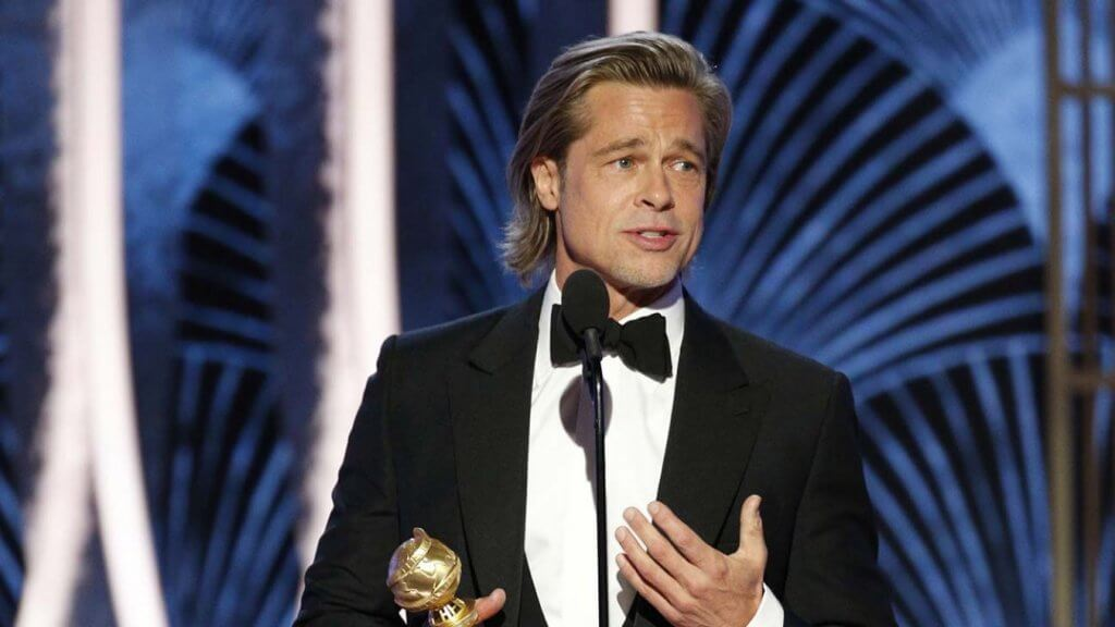 Brad Pitt Altın Küre 2020