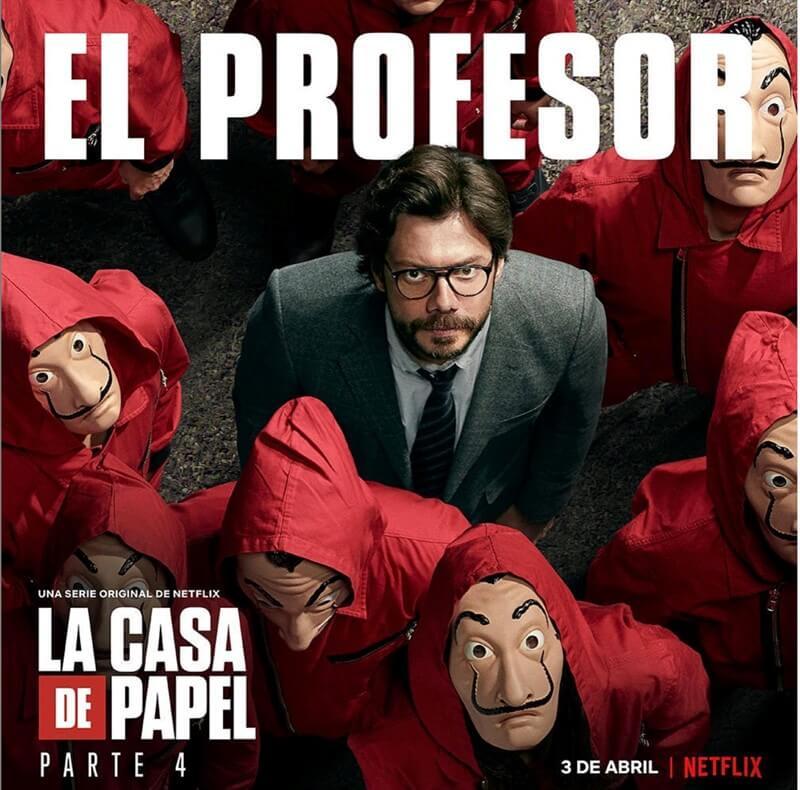 La Casa de Papel Profesör Alvaro Morte